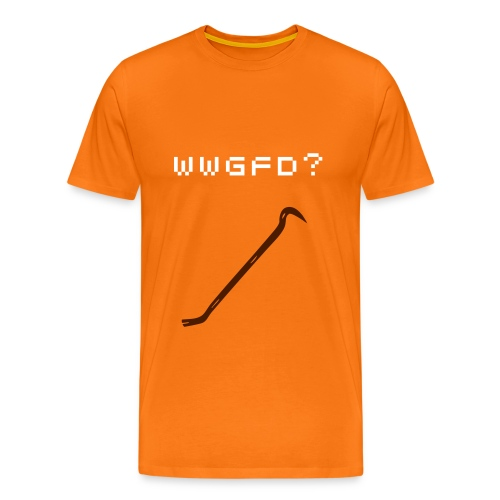 What would Gordon Freeman Do? - Men's - Men's Premium T-Shirt