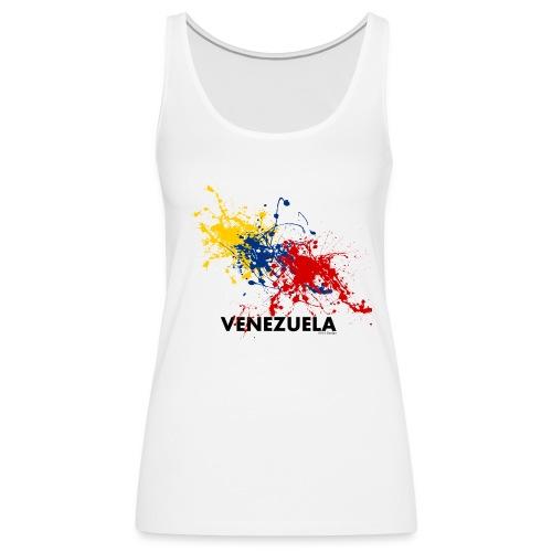 Flag Venezuela - Canotta premium da donna