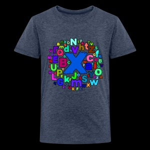 A B C Alphabet - Teenager Premium T-Shirt