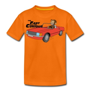 The Fast & the Curious - Teenage Premium T-Shirt