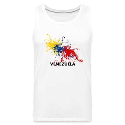 Flag Venezuela - Canotta premium da uomo