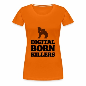 Born Digital - Frauen Premium T-Shirt