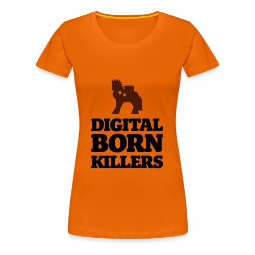 Born Digital - Frauen Premium T-Shirt