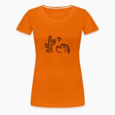 Orange Igel in love Laptop & Netbook Sleeves T-Shirts