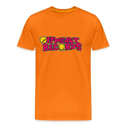 Off Me Nut Original Logo COLOURS T-Shirt - Men's Premium T-Shirt