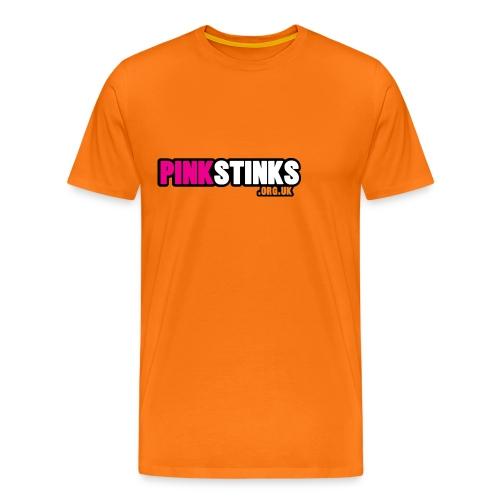Mens 'classic' Orange Tee - Men's Premium T-Shirt