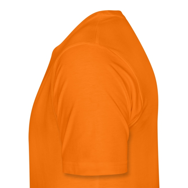 Mens 'classic' Orange Tee