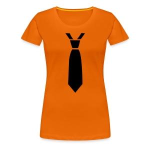 Stropdas Girlie Shirt - Vrouwen Premium T-shirt
