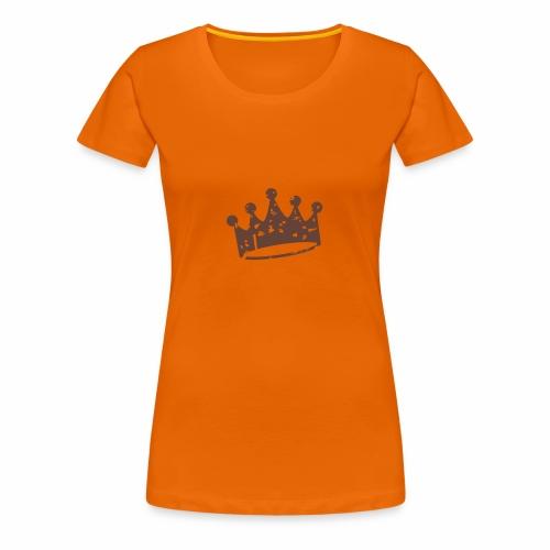 Krone - Frauen Premium T-Shirt