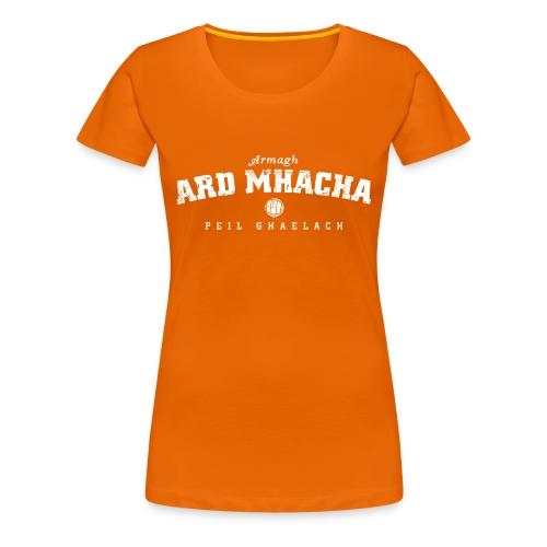 Vintage Armagh Gaelic Football T-Shirt - Women's Premium T-Shirt