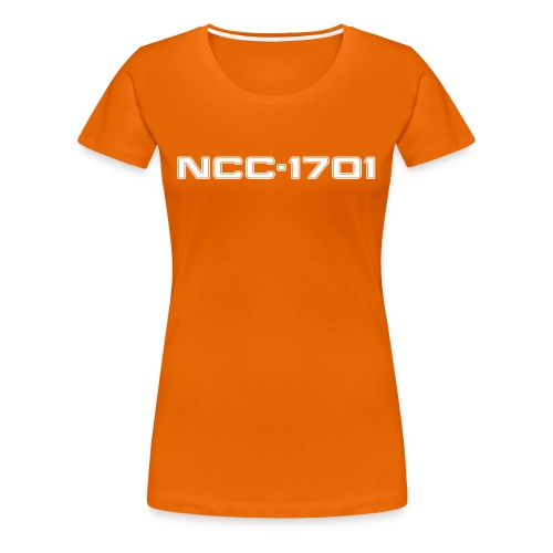 NCC-1701 Women's Girlie Shirt - Women's Premium T-Shirt