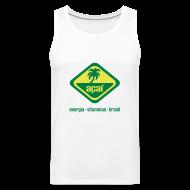 Sportbekleidung ~ Männer Premium Tank Top ~ Açaí Beach Shirt