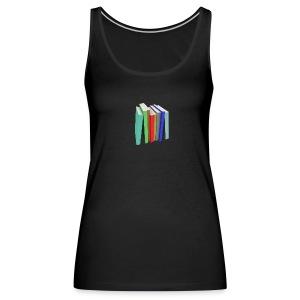 Books Shirt - Débardeur Premium Femme
