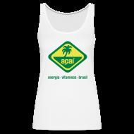Tops ~ Frauen Premium Tank Top ~ Açaí Racerback Vest