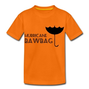 Hurricane Bawbag Brolly Up - Teenage Premium T-Shirt