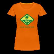T-Shirts ~ Frauen Premium T-Shirt ~ Açaí Continental Classic Girlie