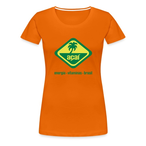 Açaí Continental Classic Girlie - Frauen Premium T-Shirt