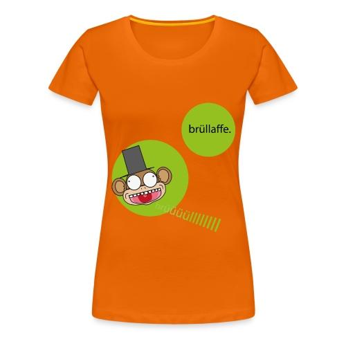 brüllaffe - Frauen Premium T-Shirt