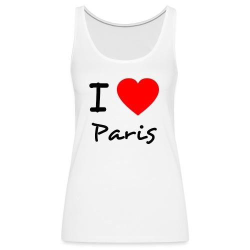 Top Frauen - I Love Paris - Frauen Premium Tank Top