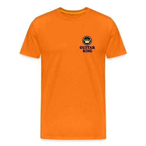 Männer Premium T-Shirt - music,king,guitar,Musik,Gitarre