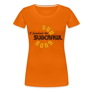 I Survived the Subcrawl - Women's Premium T-Shirt