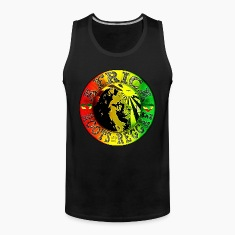 africa roots reggae T-shirt