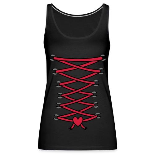 Débardeur femme corset - Débardeur Premium Femme