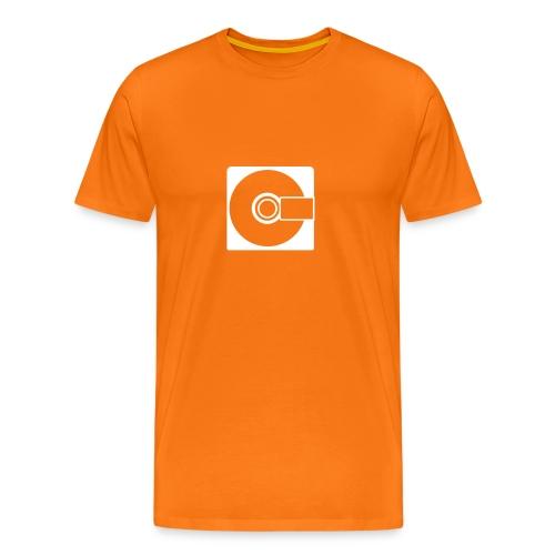 MiniDisc Symbol T-Shirt - Men's Premium T-Shirt