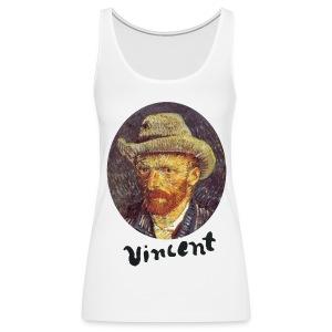 Vincent van Gogh Shoulder-Free Tank Top - Vrouwen Premium tank top