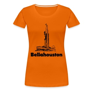 Bellahouston Tate Tower - Women's Premium T-Shirt