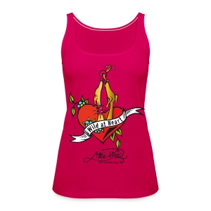 WILD AT HEART - Frauen Premium Tank Top