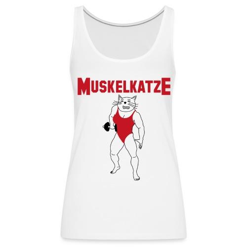 Muskelkatze - für starke Frauen - Frauen Premium Tank Top