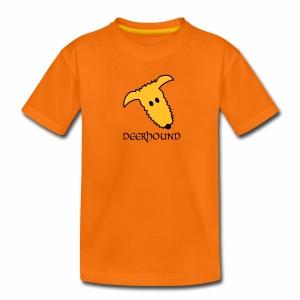 Comic-Deerhound - Teenager Premium T-Shirt