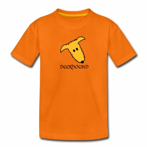 Comic-Deerhound - Teenager Premium T-Shirt