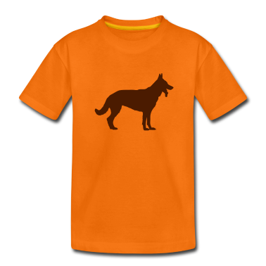 Deutscher Schäferhund - German Shepherd - Dog Kids' Shirts