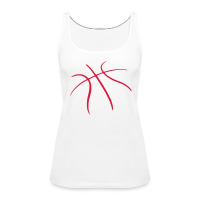 Women's Premium Tank Top with design basketball