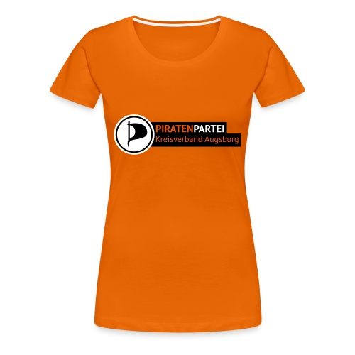 Girlie - Motiv 1 - orange - Frauen Premium T-Shirt