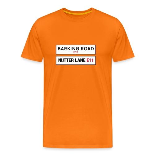 Street Speak Barking Nutter  - Men's Premium T-Shirt