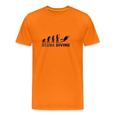 evolution_scuba_diving T-Shirts