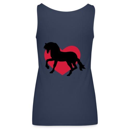 Pferd Liebe - Frauen Premium Tank Top