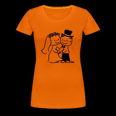 Brautpaar T-shirt