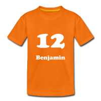 Teenage Premium T-Shirt with design