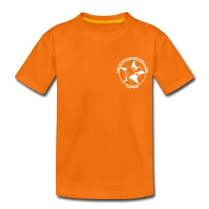 T-shirt Enfant Orange - T-shirt Premium Ado