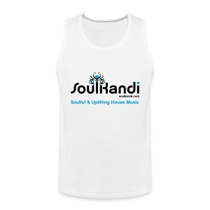 Tank Top with Black & Blue Soul Kandi Tree Logo - Men's Premium Tank Top