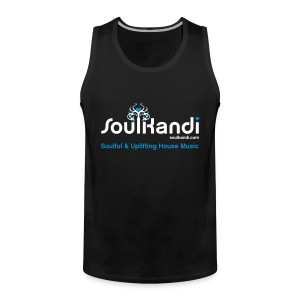 Tank Top with White & Blue Soul Kandi Tree Logo - Men's Premium Tank Top