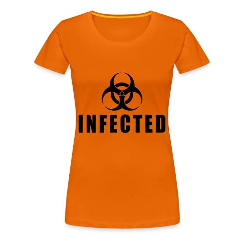 FITTED T-SHIRT VROUW - Vrouwen Premium T-shirt