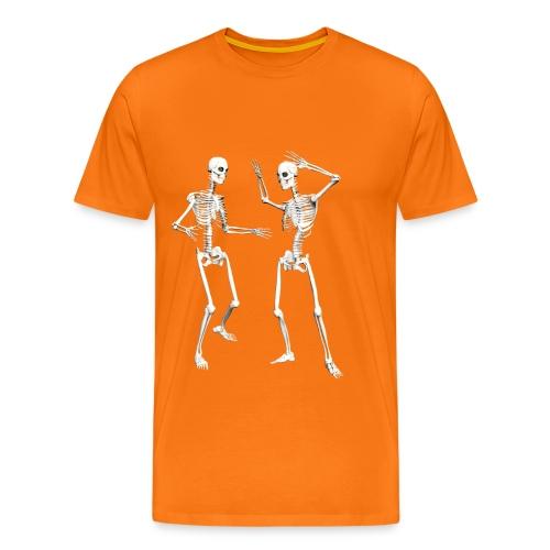 SCHELETRO DANZA - Maglietta Premium da uomo
