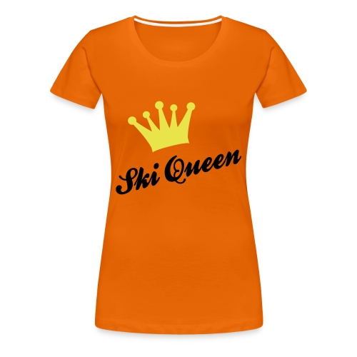 Ski Queen - Women's Premium T-Shirt