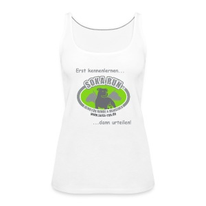 Frauen Tank Top, Logo & Text - Frauen Premium Tank Top
