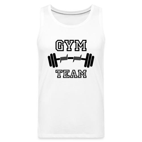 Gym Team - Muskelshirt - Männer Premium Tank Top